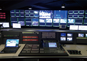 Tecent Video - Online Live Broadcasting Control Room