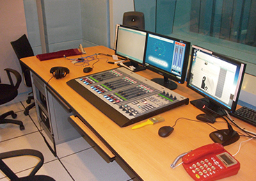 Sichuan Radio - Voice Recording Room