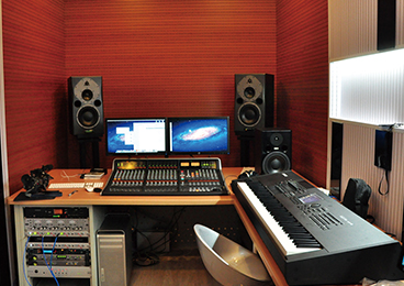 Gansu Radio Station - Recording Studio