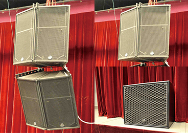 Tangshan Grand Theatre - Studio Theatre featuring Clair Brothers Speakers
