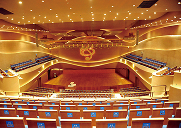 Tangshan Grand Theatre - Music Theatre Interior