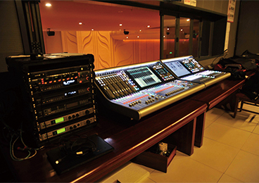 Tangshan Grand Theatre - Main Theatre Control Room L500 + L300