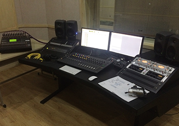 Yanbian University, College of Arts - Recording Studio