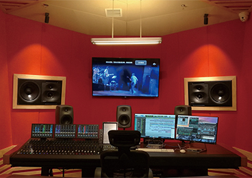 Nanjing Qinxing College of Arts - Recording Studio