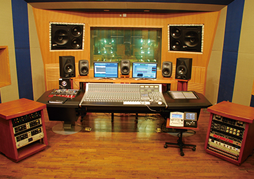 Sichuan University of Media and Communications - Recording Studio