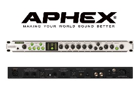 Aphex Channel - TUBE AND SOLID-STATE PREAMP WITH SEVEN PROCESSORS