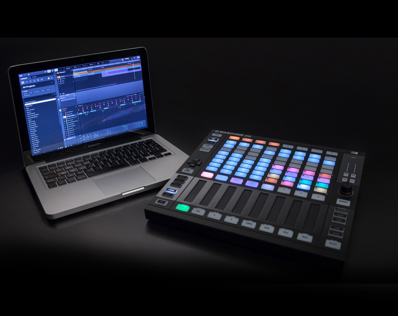 Native Instruments Releases MASCHINE JAM Production & Performance System