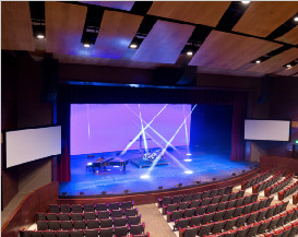 Clair Brothers Custom Speakers Designed for Valor Christian High School