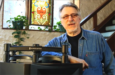 Grammy Award Winning Producer Frank Filipetti And IsoAcoustics ISO-L8R Series St