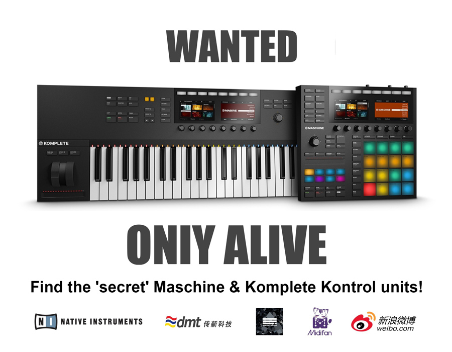 Find the 'hidden' Maschine and Komplete!