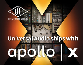 Universal Audio Introduces the Apollo X Series