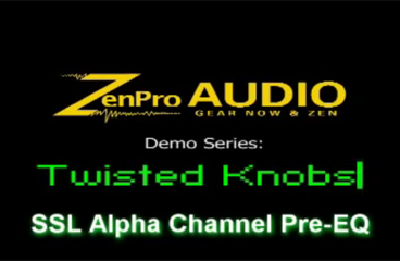 SSL Alpha Channel Equalizer @ ZenPro Audio