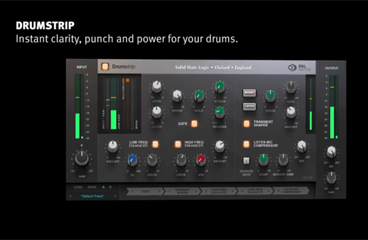 SSL Native Drumstrip