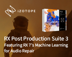 Introducing RX Post Production Suite 3