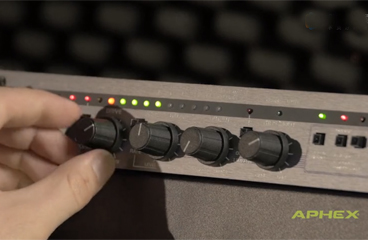 Aphex 320D Compellor - Master Preamp & Input Processor Overview