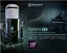 Townsend Labs Sphere L22 now supports AAX DSP for Pro Tools HDX