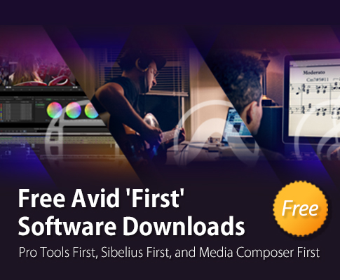 Free Avid 'First' Software Downloads