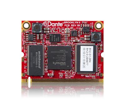 MTRX 主機64通道IP音頻Dante 小卡