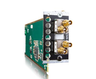 MTRX 插槽双MADI I/O 插卡, 不连 SFP