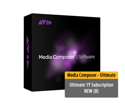 Media Composer | Ultimate 1Y Subscription NEW (B)