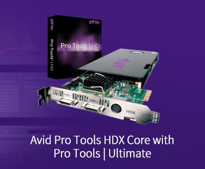 ProTools HDX DSP处理卡, 带ProTools Ultimate 永久授权