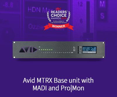 Pro Tools 高質量音頻接口基站連MADI接口和ProMon軟件
