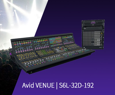 Avid VENUE | S6L with 32D