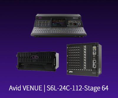 VENUE | S6L-24C Control Surface