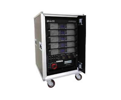 Amp Rack 8xC12 + 4xiS218-PLM