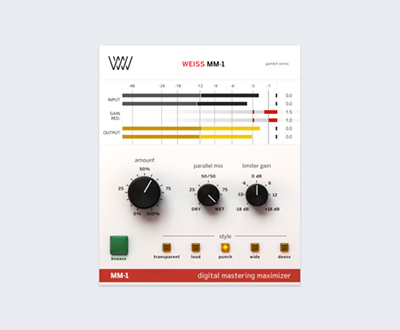 Weiss MM-1 Mastering Maximizer