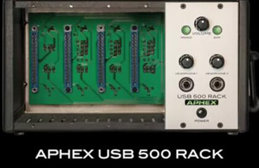 Aphex USB 500 Rack Introduction